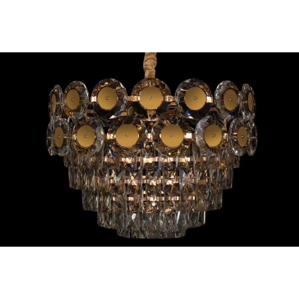Люстра светильник хрустальный в классическом стиле для зала гостинной спальни Linisoln 88373/500