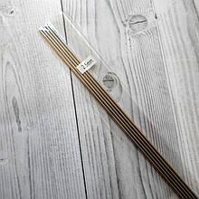 Спицы вязальные носочные, металлические  2,5 мм длина 25 см