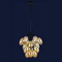 Потолочные люстры светильник в стиле лофт Levistella 756LPR0245-15 BK+BR