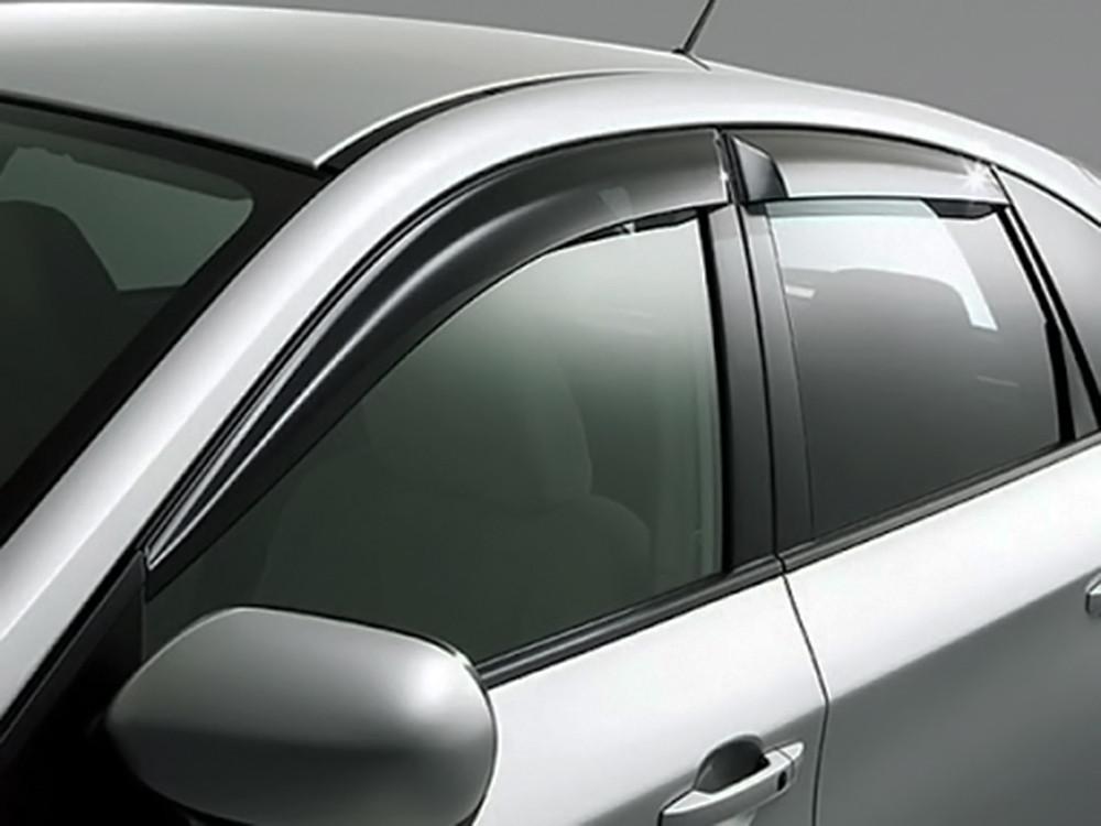 Дефлекторы окон (ветровики) KIA Sorento (BL) 2002 - 2009  (ТТ)