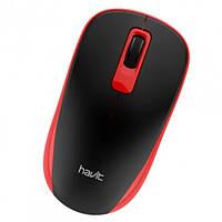 Мышка беспроводная оптическая Havit MS626GT, черно-красная