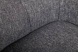 Крісло Nicolas Oliva F523A поворотне сіре, фото 3