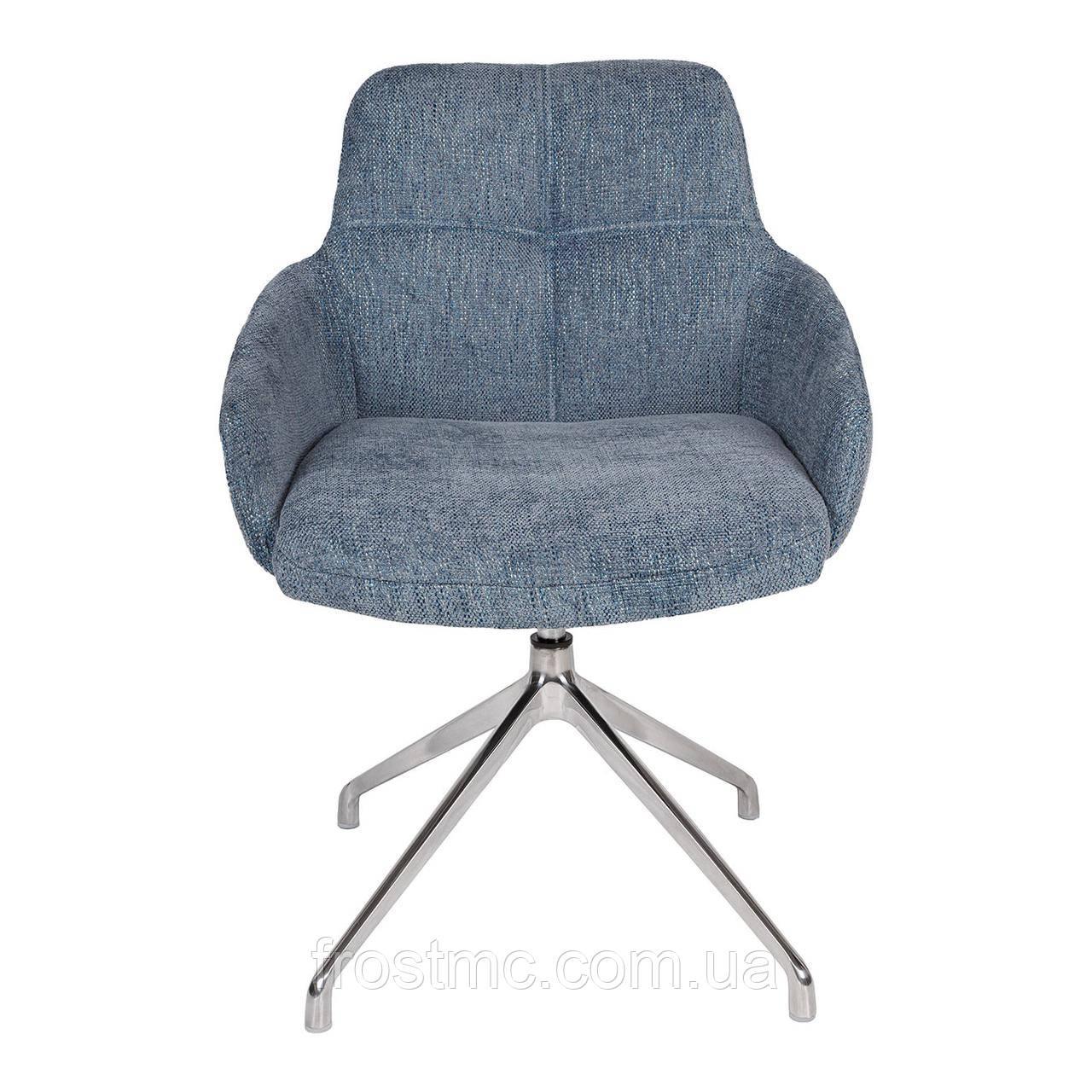 Крісло Nicolas Oliva F523A поворотне синє