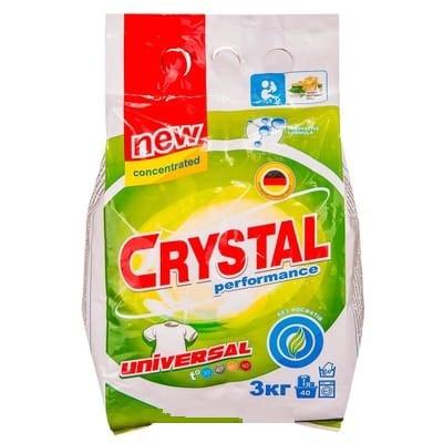 Стиральный порошок Crystal Performance 3 кг концентрат