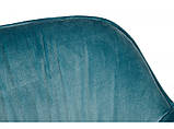 Кресло Nicolas Carinthia 1501 темно-бирюзовое, фото 3