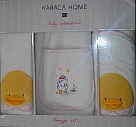 Детский набор для ванной от 12-24 мес. KARACA HOME  DUCK розовый