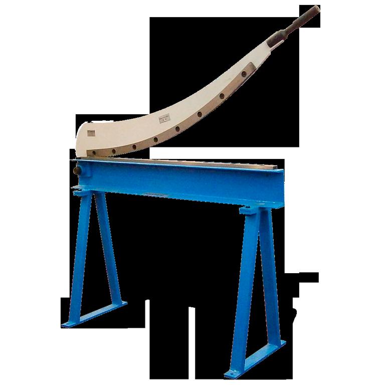 Гильотина ручная сабельная HS-1000, Рабочая длина-1000 мм; Толщина металла (400 Н/мм2)-1мм