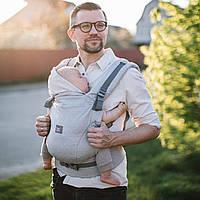 """Эрго рюкзак для новорожденных ONE """"Туман"""" Love & Carry Многофункциональн Рюкзак для переноски детей Анатомич"""