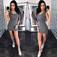 Трикотажное женское платье для прогулок, турецкий трикотаж S\M\L\XL