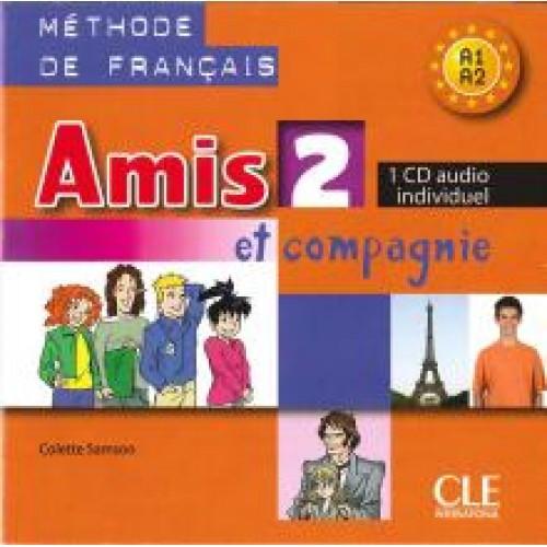 Amis et compagnie 2 Audio CD