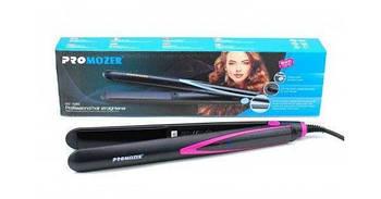 Плойка выпрямитель для волос с регулировкой температуры Pro Mozer MZ-7056A