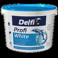 """Краска латексная акриловая для стен и потолков """"Profi White"""" ТМ """"Delfi"""""""