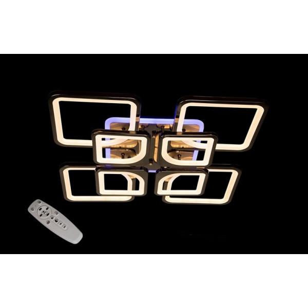 Светодиодные люстры Linisoln 5543/4+4 Pearl Black