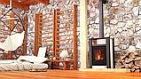 Отопительная печь-камин длительного горения AQUAFLAM VARIO LEND (водяной контур, кремовый), фото 9