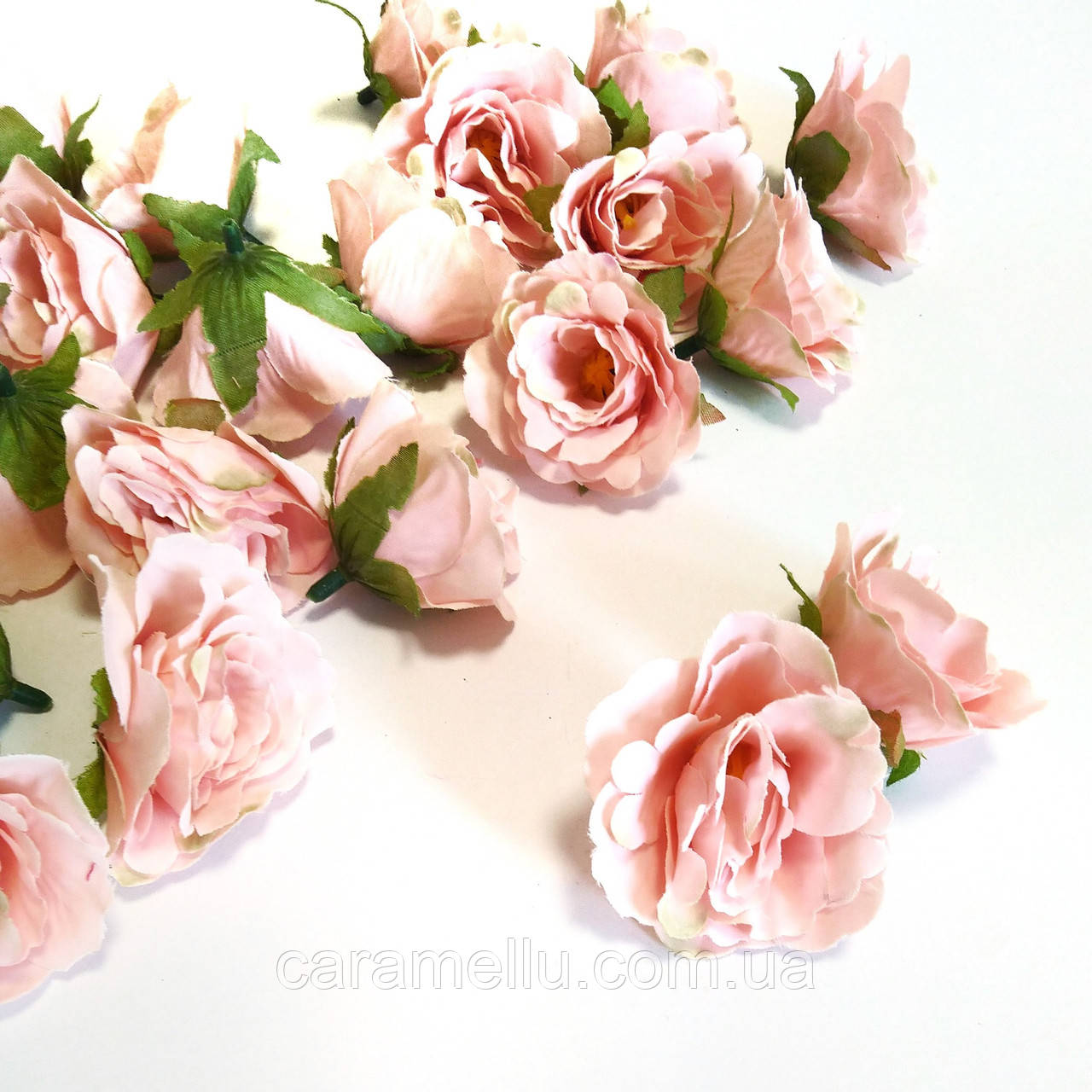 Розочка прованс. Цвет лососевого 4,5 см