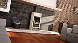 Опалювальна піч-камін тривалого горіння Masterflamme Grande I (білий металік), фото 5