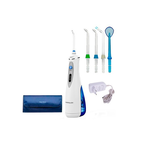 Портативный ирригатор для рта, 3 режима 4 насадки чехол V400Plus, комплект