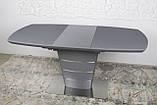 Стол Nicolas Atlanta HT2440 (120/160*80) графит, фото 5