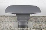Стол Nicolas Atlanta HT2440 (120/160*80) графит, фото 8