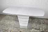 Стол Nicolas Atlanta HT2440 (140/180*90) белый, фото 2