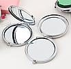 Зеркальце косметическое женское складное, фото 2