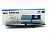 Видеорегистратор-зеркало UKC C33 Vehicle Blackbox DVR на три камеры  5'' + touch FullHD, фото 2