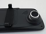 Видеорегистратор-зеркало UKC C33 Vehicle Blackbox DVR на три камеры  5'' + touch FullHD, фото 8