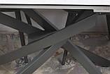 Стіл Nicolas Lincoln 4626L (160/240*90) кераміка, білий глянець, фото 7