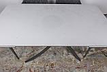 Стіл Nicolas Lincoln 4626L (160/240*90) кераміка, білий глянець, фото 9