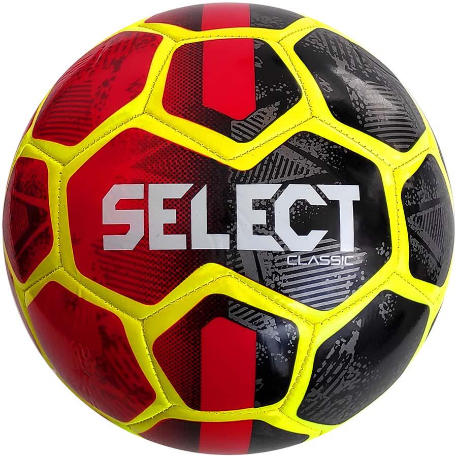 Футбольный мяч Select Classic размер 4 черно-красный