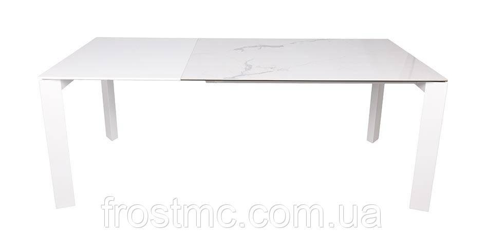 Стол Nicolas Liverpool S керамика 140 белый глянец