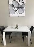 Стол Nicolas Liverpool S керамика 140 белый глянец, фото 8