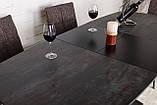 Стіл Nicolas Ottawa HT2510 (140/180*85) коричневий, графіт кераміка, фото 7