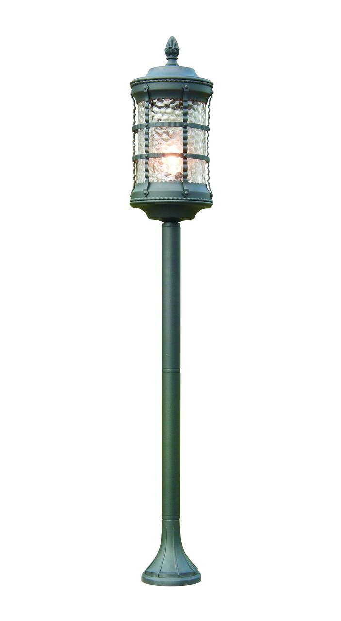 Уличный столбик садовый фонарь LusterLicht  11633Н Lettera