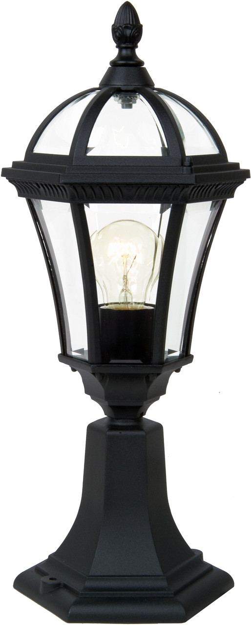 Уличный столбик садовый фонарь LusterLicht 1564S Real I