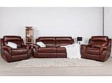 Диван Соренто коричневый 3SB, фото 3