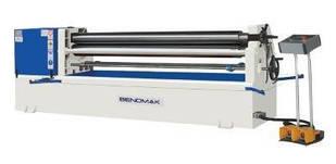 Мощные трёхвалковые вальцы с электроприводом Bendmak CYL-ST 170-15/8.0 Рабочая длина 1.6 м Толщи 8мм