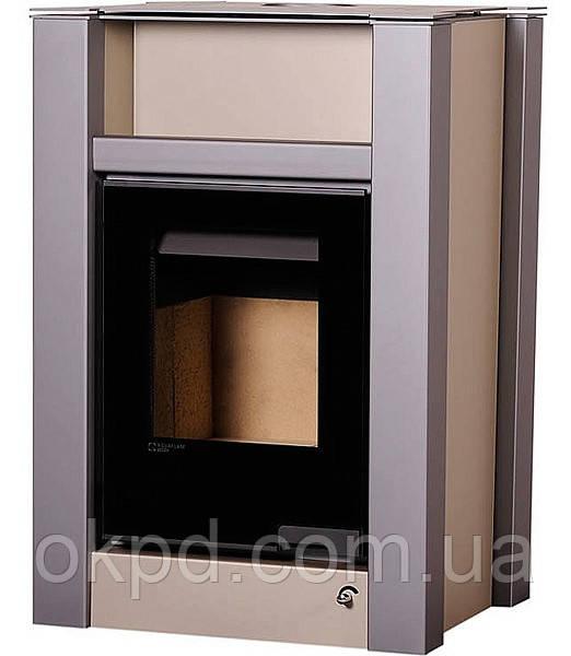Опалювальна піч-камін тривалого горіння AQUAFLAM VARIO LEND (коричневий оксамит)