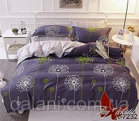 Семейный комплект постельного белья из ранфорса с резинкой на простыни
