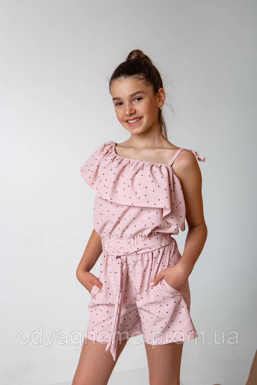Комбинезон летний для девочек, 134-158 pp. Артикул: KS8787
