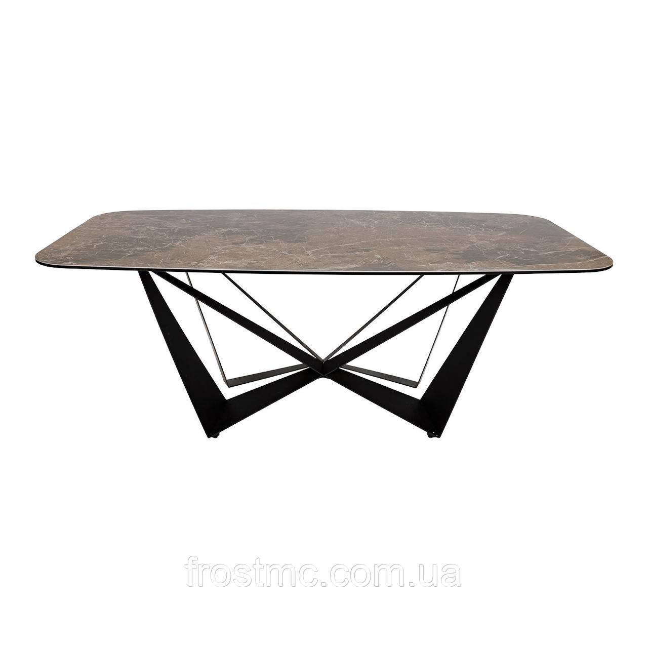 Стол Nicolas Wellington HT92015В 200 керамика коричневый
