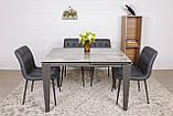 Стол Nicolas Alta DF511T 120 керамика серый глянец, фото 8