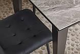 Стол Nicolas Alta DF511T 120 керамика серый глянец, фото 10
