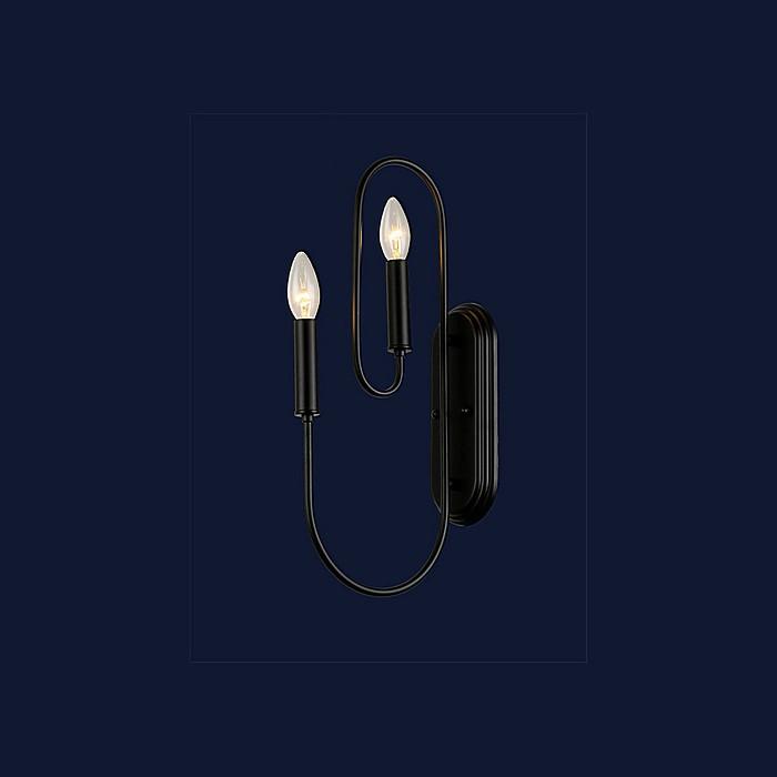Бра свічка Levistella 773E001-2 BK