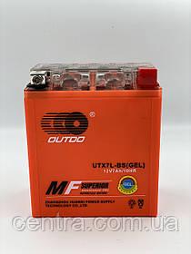 Аккумулятор мото Outdo 7Ah YTX7L-BS GEL