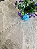 Стол Nicolas Cambridge 4627L 125 керамика серый глянец, фото 7