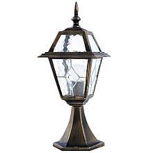 Уличный столбик садовый фонарь LusterLicht 1364-A Faro I
