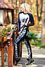Трикотажні жіночі, використання стилізованих під джинсову тканину, турецький трикотаж