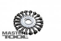 MasterTool Щетка дисковая из плетеной проволоки D115*22,2 мм, Арт.: 19-9011