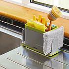 ОПТ Органайзер для кухонной раковины Caddy Sink Tidy Joseph 3 в 1 кухонный органайзер для моющих средств, фото 3